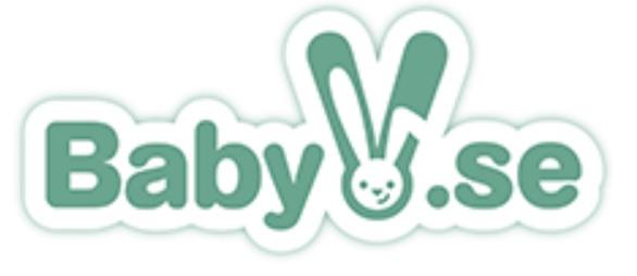Logotyp för babybutiken BabyV.se