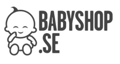 Logotyp för Babyshop babybutik online.