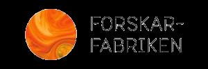 Forskarfabriken logotyp butik med pedagogiska leksaker på nätet.