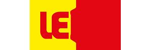 Logotyp för Lekia leksaksbutik på nätet.