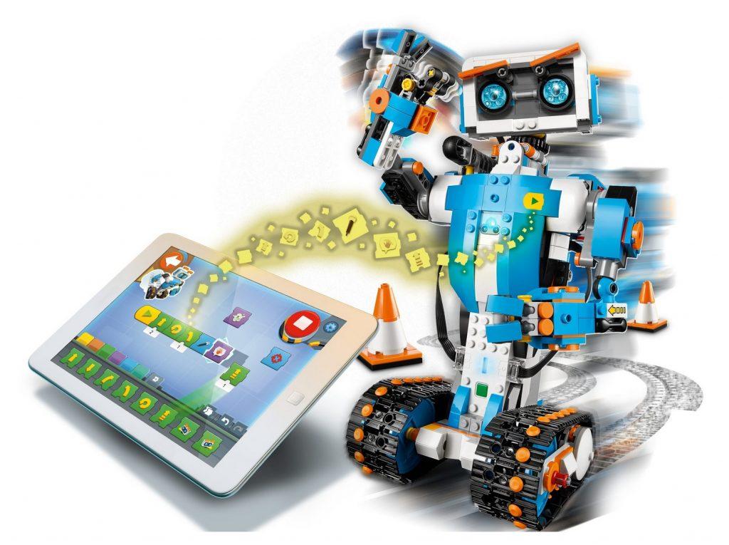 Lego Boost Kreativ Robot med App på surfplatta