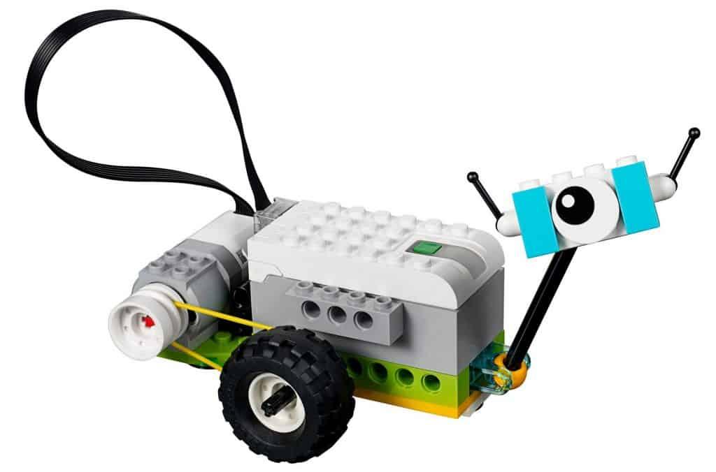 Lego WeDo 2.0 Robot med hjul och öga