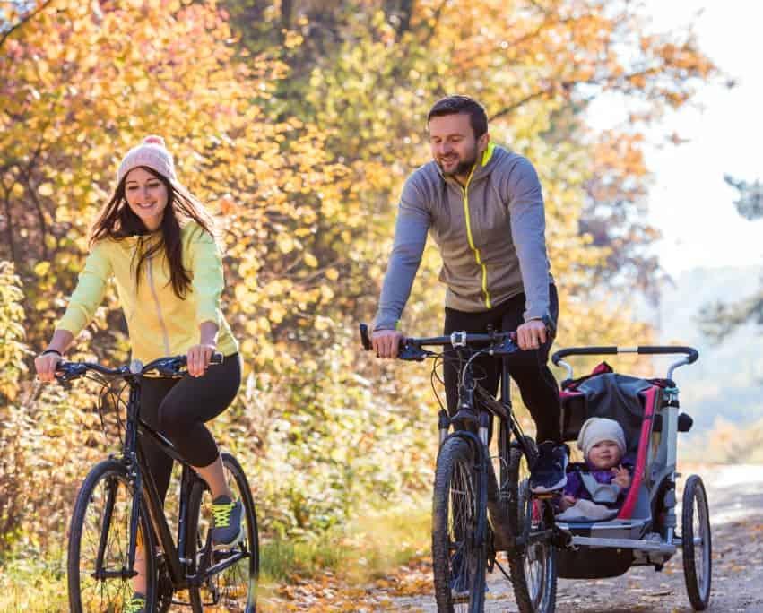 Köpguide till de bästa cykelvagnarna att köpa på nätet