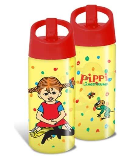 Pippi Långstrump Vattenflaska 400 ml